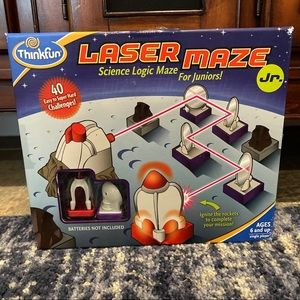 Laser Maze Jr.  STEM game